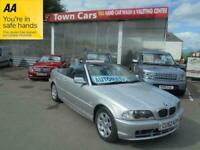 2002 BMW 3 Series 318CI Auto CONVERTIBLE Petrol Automatic