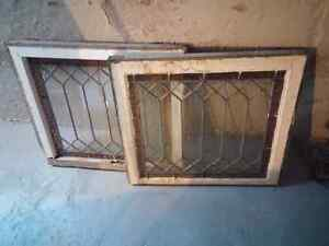 100 year old antique glass windows London Ontario image 1