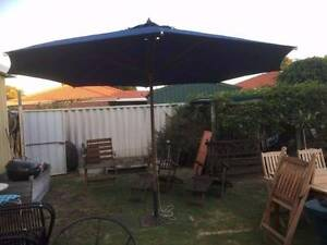 Large 4mtr Garden Umbrella with Stand Beckenham Gosnells Area Preview