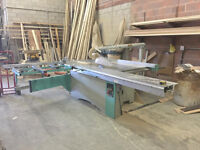 Table Saw, Edge Bander, Spray Booth & Power Tools for sale