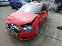 Audi A3 2.0TDI Sportback Tronic S Line DAMAGED REPAIRBALE SALVAGE