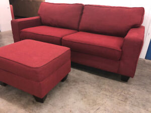 Couch & Ottoman  -  DELIVERY