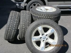 Dodge Ram aluminum rims and tires 275-60-20