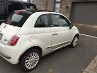 2013 convertible Gucci Fiat