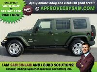 WRANGLER 4X4 - APPLY WHEN READY TO BUY @ APPROVEDBYSAM.COM Windsor Region Ontario Preview