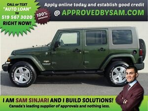 WRANGLER 4X4 - APPLY WHEN READY TO BUY @ APPROVEDBYSAM.COM