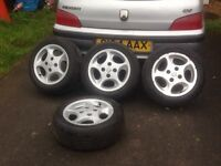 Pug 106 gti raptor alloys 4x108