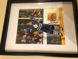 Toronto Maple Leafs signed Clark MacArthur 8x10