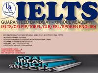 IELTS/CELPIP/TOEFL/CLB/ESL/CITIZENSHIP TEST..GUARANTEED RESULTS