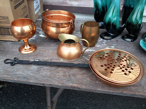 COPPER DECORATION  COLLECTION  ALL FOR $22.00