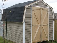 8X8 shed (plywood)