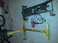 for sale engine stand transmission jack and impact gun