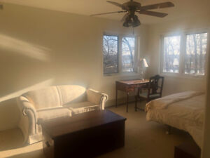 Large, 200 sq ft., bed-sitting room in beautiful Port Dalhousie.