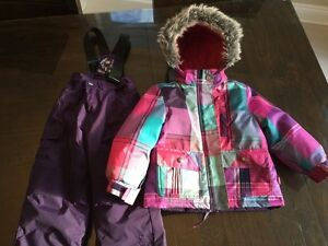 Nano snowsuit girl toddler size 2t in excellent condition