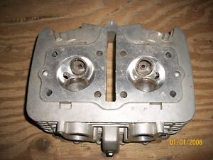 1983 Suzuki GS 450 cylinder head and cylinders