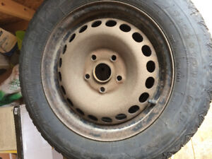 """Free 15"""" tires and rims!"""