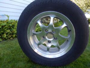 Four Alloy Wheel Rims