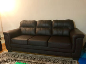 Sofa, Love seat, dinning table with four chair,  2 door shelf