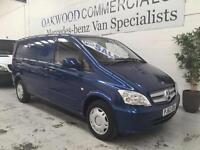 2013 62 Mercedes-Benz Vito 113CDI Compact VAN IN JASPER BLUE