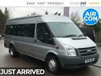 2009 Ford Transit 430 2.4TDCi 140BHP XLWB L4 Minibus *NO VAT* Minibus Diesel Man