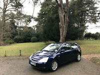 2003/53 Honda Civic 1.6i VTEC SE Sport 5 Door Hatchback Blue