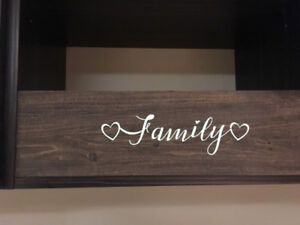 """""""Family"""" Wood Sign"""