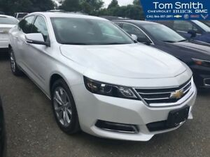 2018 Chevrolet Impala LT   Sunroof and Spoiler Package, Leather