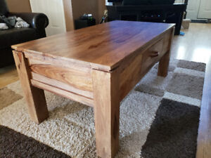 Rosewood Coffee and End Tables