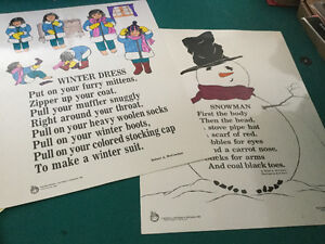 Winter Posters / Poems