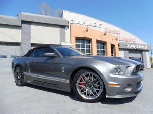 Ford Mustang CONVERTIBLE, SHELBY GT500, CUIR, GPS, XENON 2011