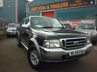 FORD RANGER 2.5 XLT 2006 DIESEL DOUBLE CAB PICK UP FULLY SERVICED LONG MOT VGC