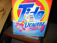 4 NEW BOXES OF TIDE WITH DOWNY