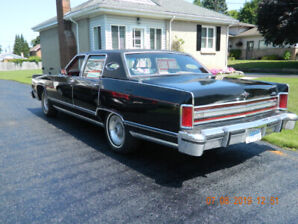 1978 Lincoln Continental Town Car For Sale