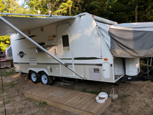 Swap/trade - hybrid camper trailer for boat