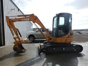 2013 Case CX50B compact excavator with low hours