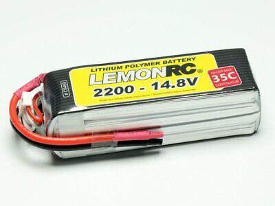 Lipo Form - LiPo Akku 4S LEMONRC 2200 - 14.8V (35C), Kompakte Bauform, TOP-Qualität!