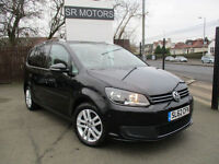 2012 VolksTouran 1.6TDI ( 105ps ) Tech ( s/s ) BlueMotion SE(7 SEATER,HISTORY)