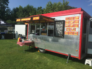 MOBILE Profitable Food Business for Sale or as Permanent Fixture