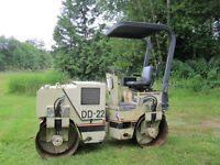 Ingersoll Rand DD-22 Double Drum Compactor