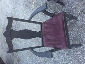 6 antique dinette chairs MUST SELL Windsor Region Ontario image 2