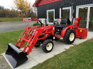 Branson 24 HP 4x4 Tractor loader and snowblower package price !