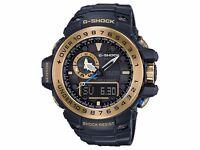 Casio G-Shock GWN-1000GB-1AER Gulfmaster Watch Black & Gold BNWT