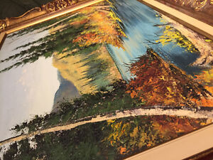 E.A Leis Original Oil Painting Cambridge Kitchener Area image 3