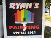 RYANS PAINTING ;DARE TO COMPARE;CALL MIKE 519-503-7017