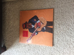 Iron and wine sealed signed red vinyl rare
