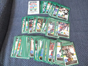 ONE-ON-ONE HOCKEY CARD GAME COMMON SET