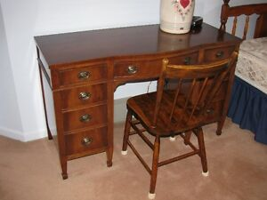 Beautiful solid wood antique desk/vanity