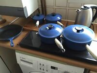 Le Creuset Signature Cast Iron Pans & Griddle Pan