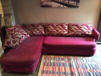 Dfs Fabric Corner Sofa Excellent Condition 2 Years Old