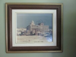 General Hospital picture in frame